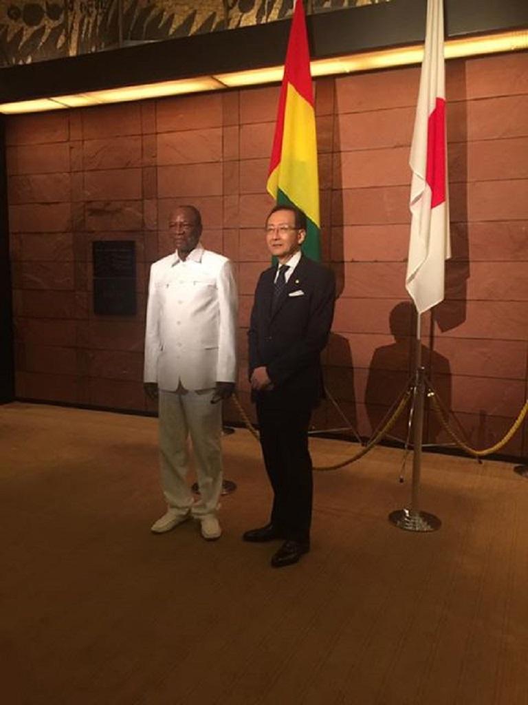 Visite d'État du président Alpha Condé au Japon, voici leprogramme de sa visite