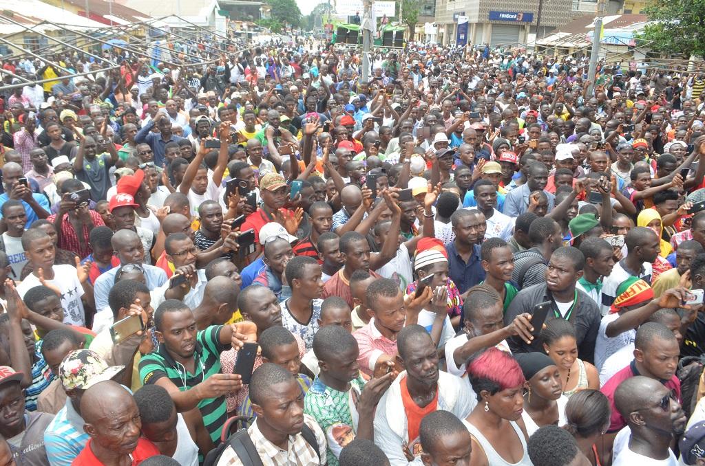 Kaloum : L'opposition guinéenne fait le plein