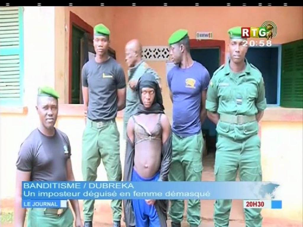 Grand banditisme: Déguisé en femme voilée, Sekouba Bangoura est arrêté à Kindiadie (Dubréka)…