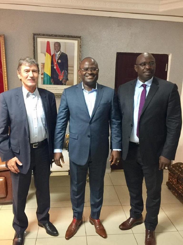 Le secrétaire général de l'union de la presse francophone reçu par Kerfalla Camara KPC
