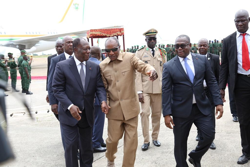 En bref : visite de Alassane Ouattara en Guinée