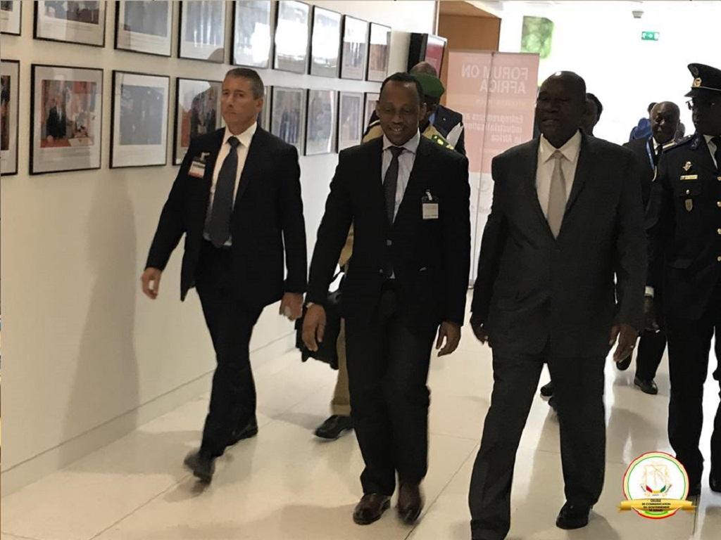 Paris: Tête à tête entre le Premier Ministre Mamady Youla et le Vice-président ivoirien Daniel Kablan Duncan