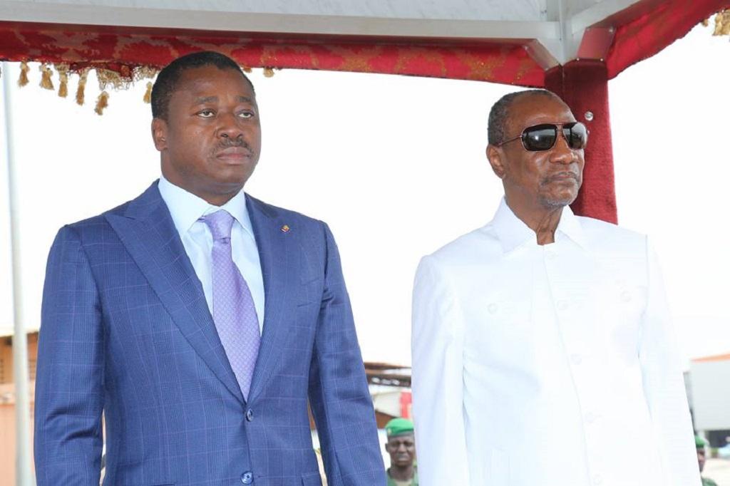 Alpha Condé accueille Faure Gnassinbgé du Togo