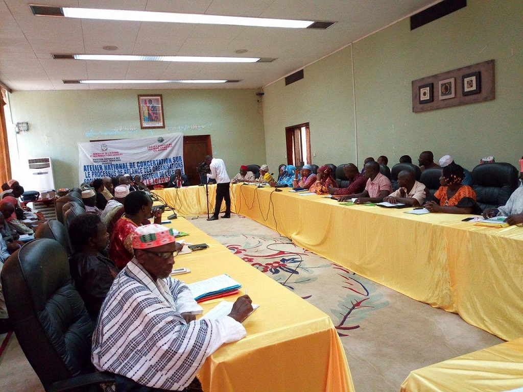 Les opérateurs du secteur de l'élevage réuni à Conakry pour s'organiser et se mettre en structure.