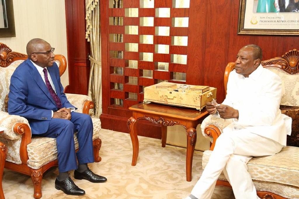 Le ministre sénégalais des Affaires étrangères en audience chez le président Alpha Condé