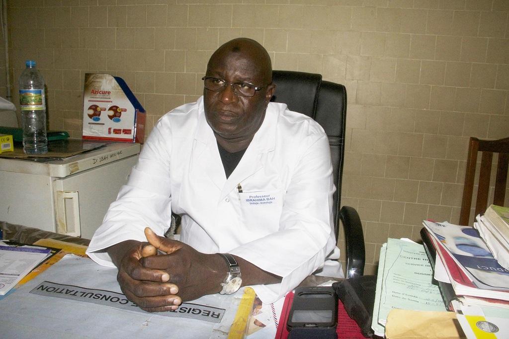 Prostate – Qu'est-ce que c'est ? (Par le Professeur Ibrahima Bah, chirurgien urologue à l'hôpital Ignace deen)
