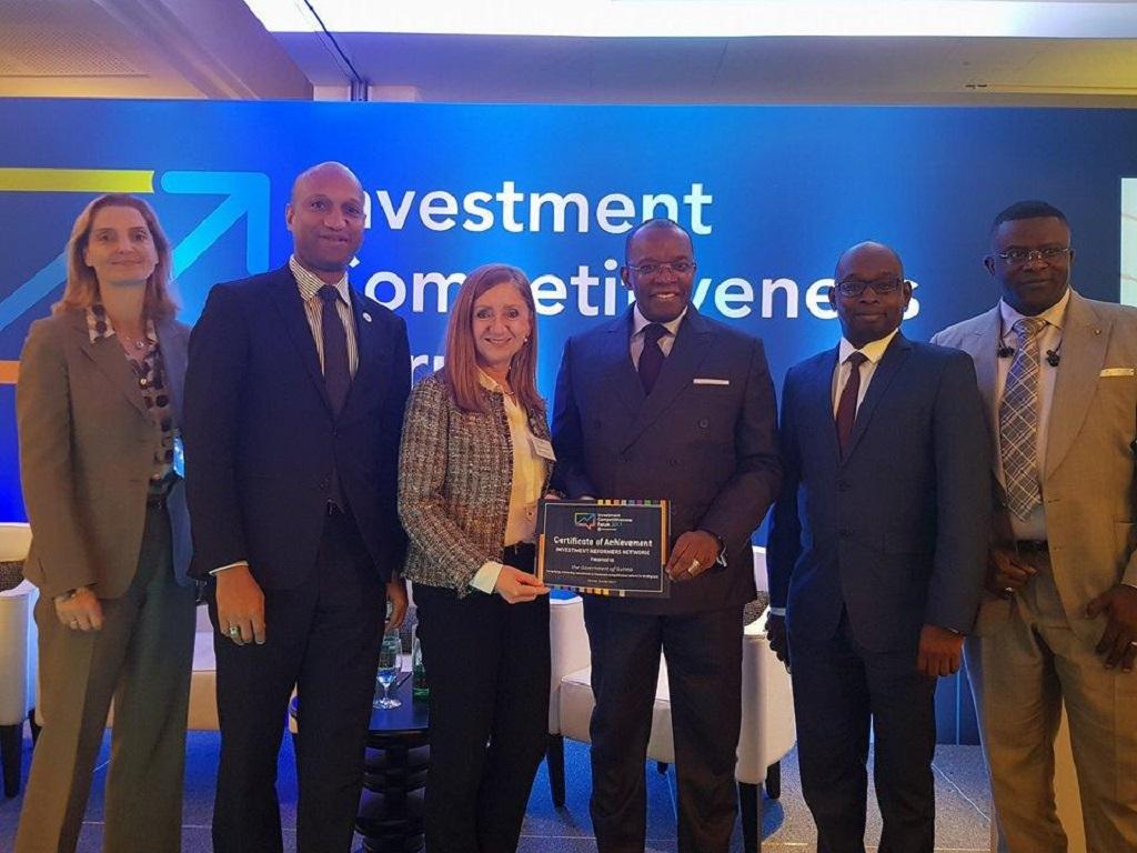 La Guinée, un des cinq pays au monde les plus performants en matière de réformes visant à attirer les investissements directs étrangers (IDE)