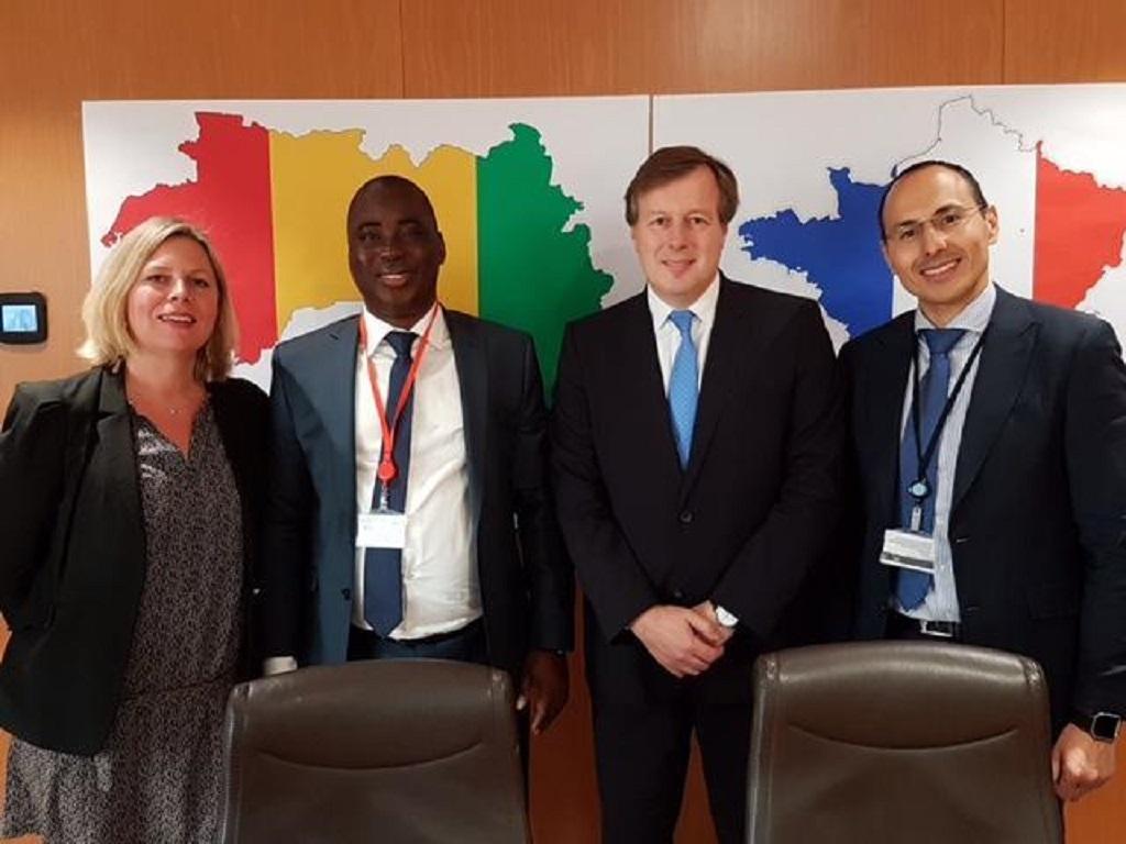 Le le Groupe International Français TOTAL fait son entrée dans le domaine de l'exploration en république de Guinée.