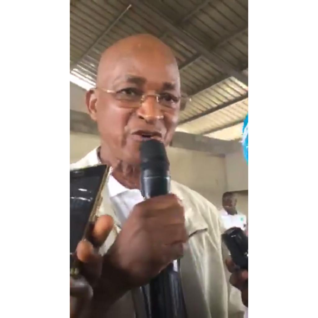 AG de l'UFDG : L'intervention du président…(vidéo)