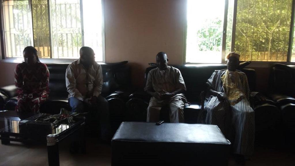 Semaine de la Citoyenneté: une mission visite le patriarche et le président de l'association konia à N'Zérékoré