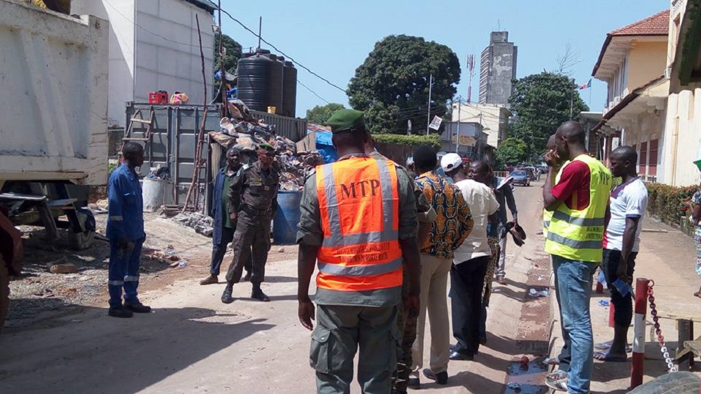 La saisie de plusieurs matériaux de construction par la brigade de protection du patrimoine routier