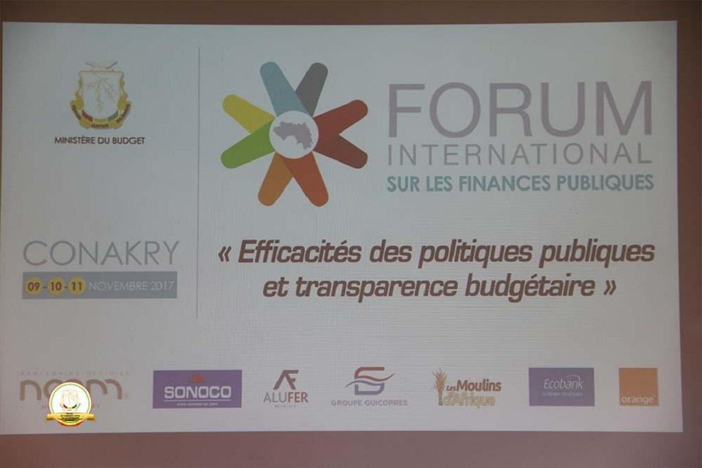 Mohamed Lamine Doumbouya a clos ce samedi 11 novembre, les travaux de la 12ème édition du Forum International sur les finances publiques.