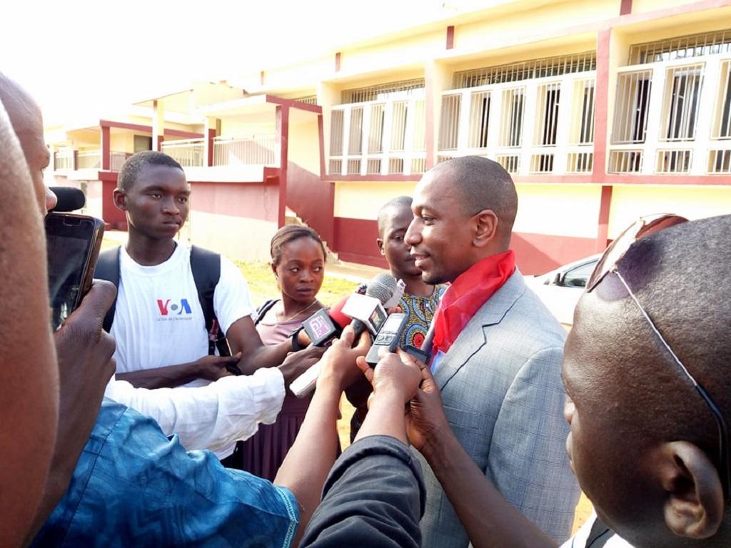 Les capacités des politiques publiques et la transparence budgétaire étaient au centre d'une conférence débat à l'université Général Lansana Conté de sonfonia-conakry