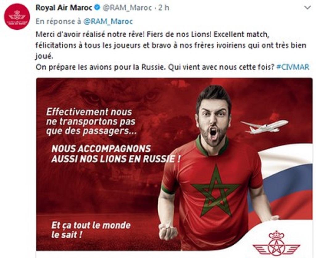 Qualification méritée du Maroc à la Coupe du Monde 2018
