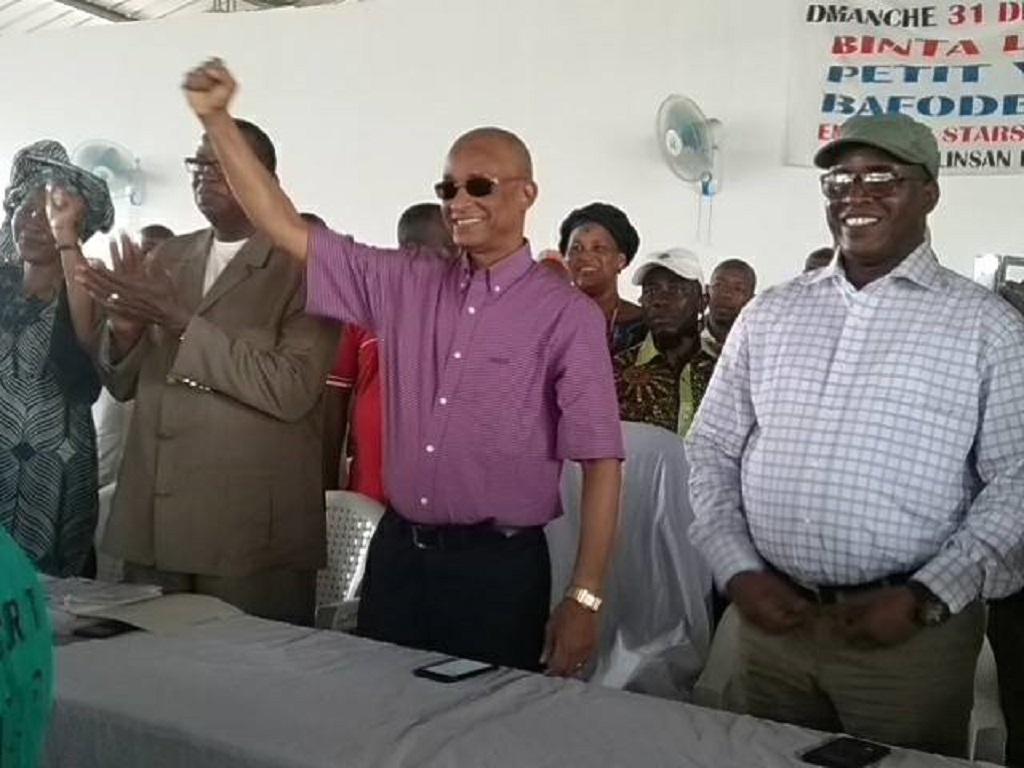 AG de l'ufdg : Voici le discours de Cellou Dalein Diallo au siège de son parti.