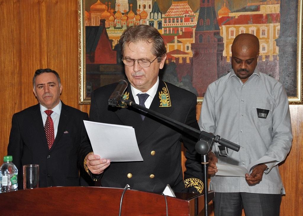 «je souhaite aux guinéens de s'unir davantage pour se transformer en une nation», dixit l'Ambassadeur de la Russie en Guinée