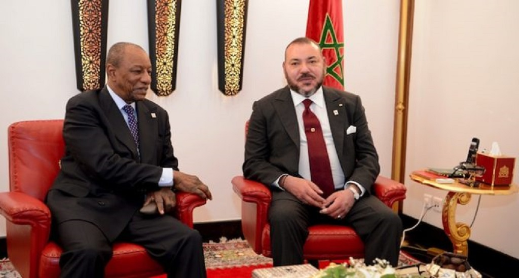 Le roi du Maroc attendu à Conakry, ce Mardi