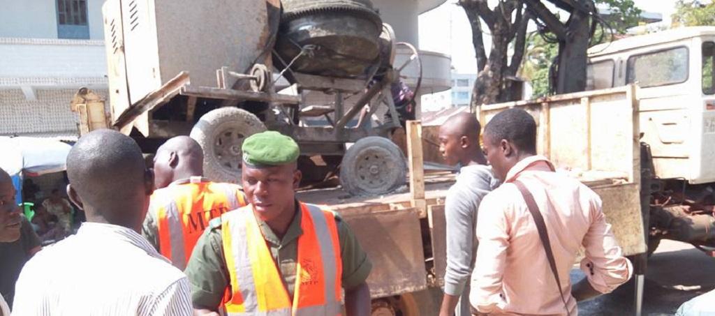 Ministère des Travaux Publics- Saisie de plusieurs matériaux de construction par la brigade de protection du patrimoine routier national