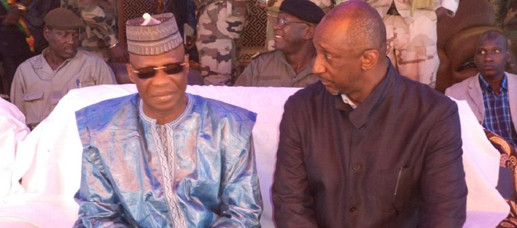 Le Ministre Bouréma Condé et son homologue malien en tournée de sensibilisation à la frontière