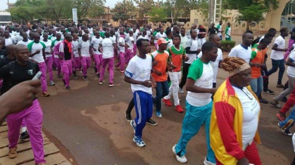 Le Rmps organise la grande foulée pour la paix au Burkina