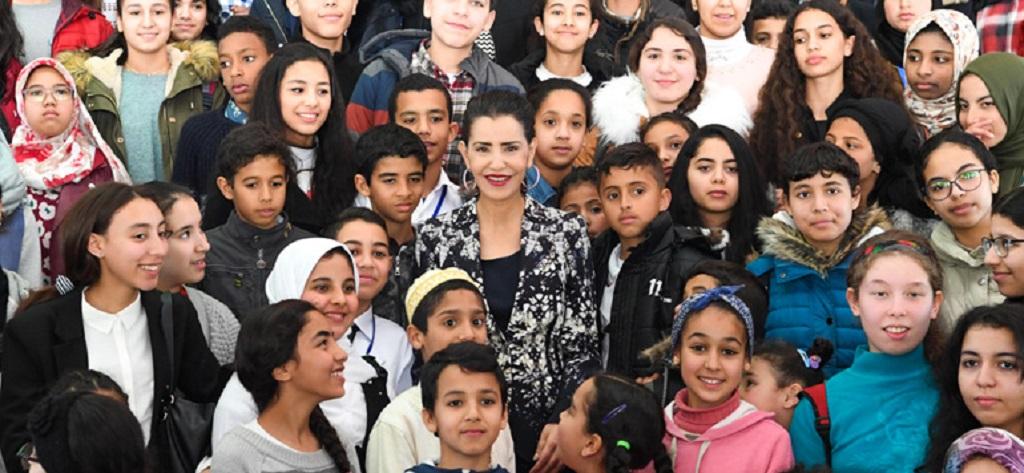 La Princesse Royale Lalla Meryem du Maroc défenseur des droits de la femme et de l'enfant