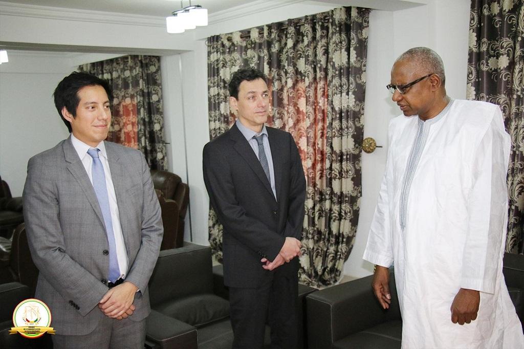 Ministère de la Justice : Une mission de la Cour Pénale Internationale reçue par le ministre Cheick Sako