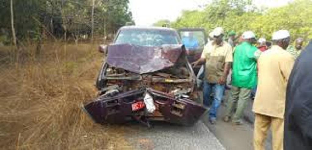 Guinée : Cinq (05) morts dans un accident de la circulation au village Kankako entre Boffa et Boké