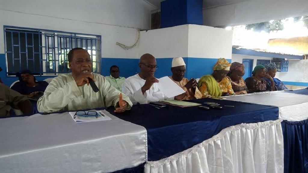 «On n'acceptera pas qu'on brûle ce pays ni moins qu'on l'a communautarise», dixit Honorable Babara Fofana à l'AG de l'UFR