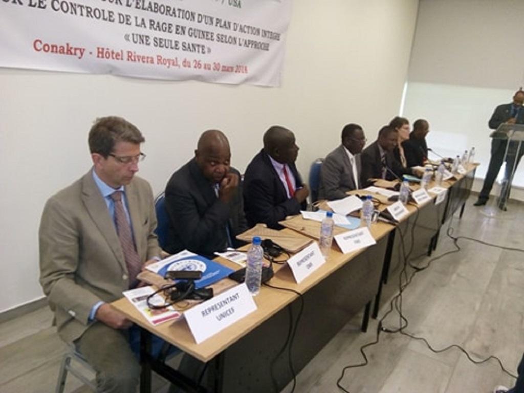 Les États-Unis soutiennent l'approche «une Seule santé» à travers un atelier à Conakry.