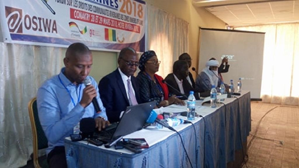 Les droits des communautés riveraines des zones minières en débats à Conakry.