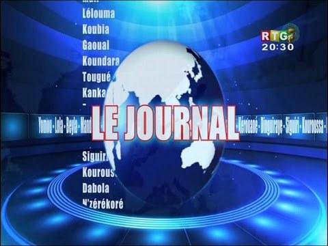 Le JT de la RTG Koloma du 6 avril 2018.
