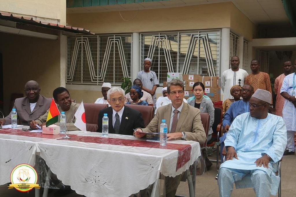 Ministère de la Santé : clôture du projet de renforcement de l'offre des services de santé dans les districts sanitaires victimes d'ébola de la région de N'zérékoré.