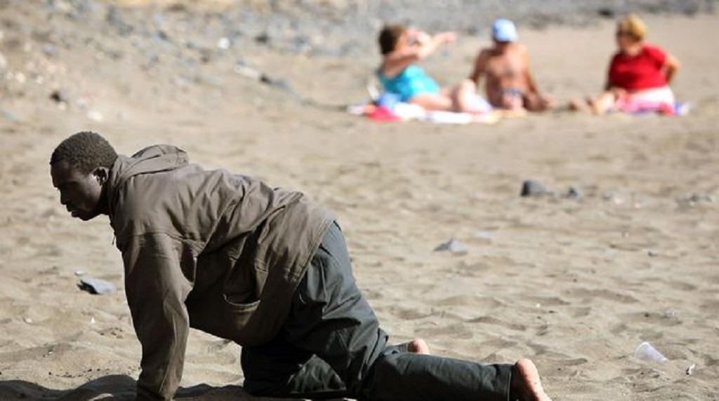 Exploit : A 59 ans,un Togolais arrive à la nage en Espagne depuis le Maroc
