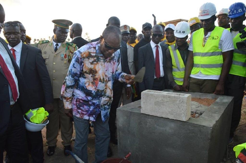 AGRICULTURE : Le Président Alpha Condé lance un vaste programme de désenclavement de grandes zones de production agricole