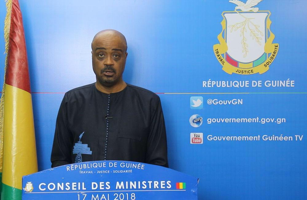 Guinée: compte rendu du conseil des ministres du 17 mai 2018.
