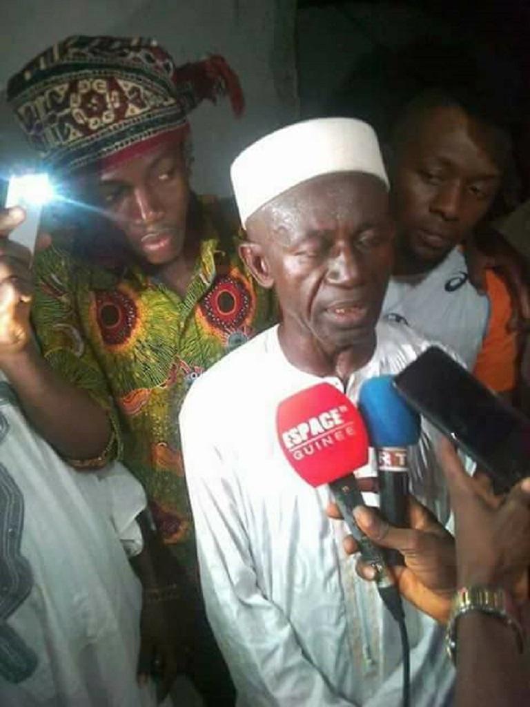 Kaloum: Quand la politique s'invite dans la mosquée en plein ramadan.