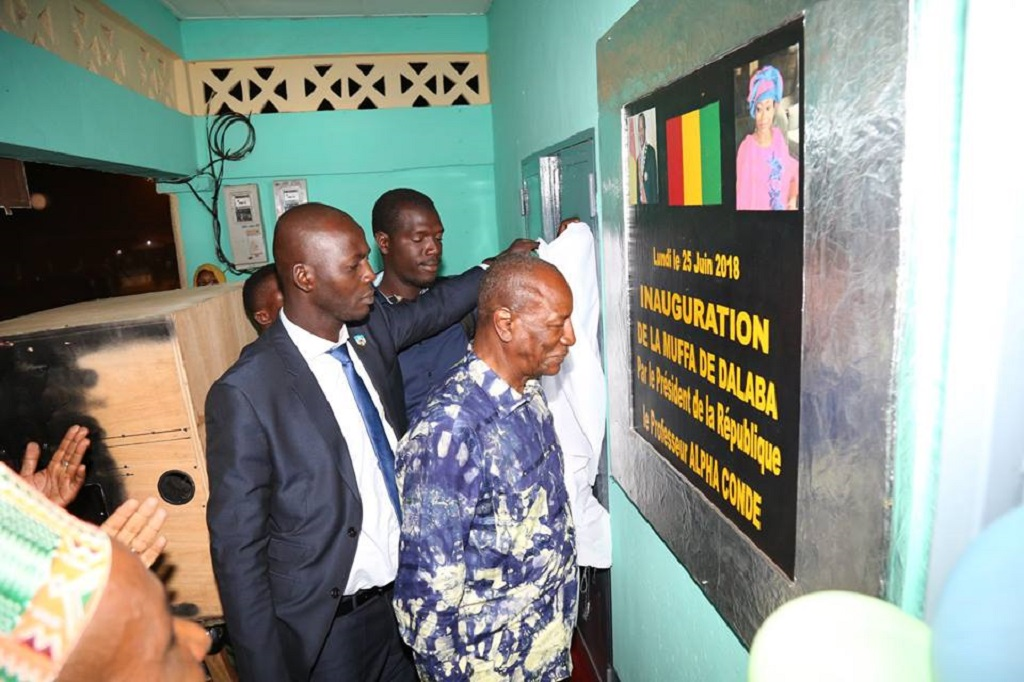 Micro-finance : Le Président Alpha Condé inaugure la MUFFA de Dalaba