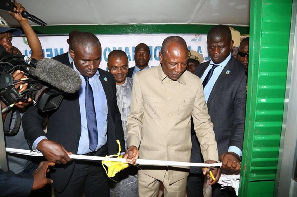 Mamou : Le Président Condé inaugure la MUFFA et la MC2