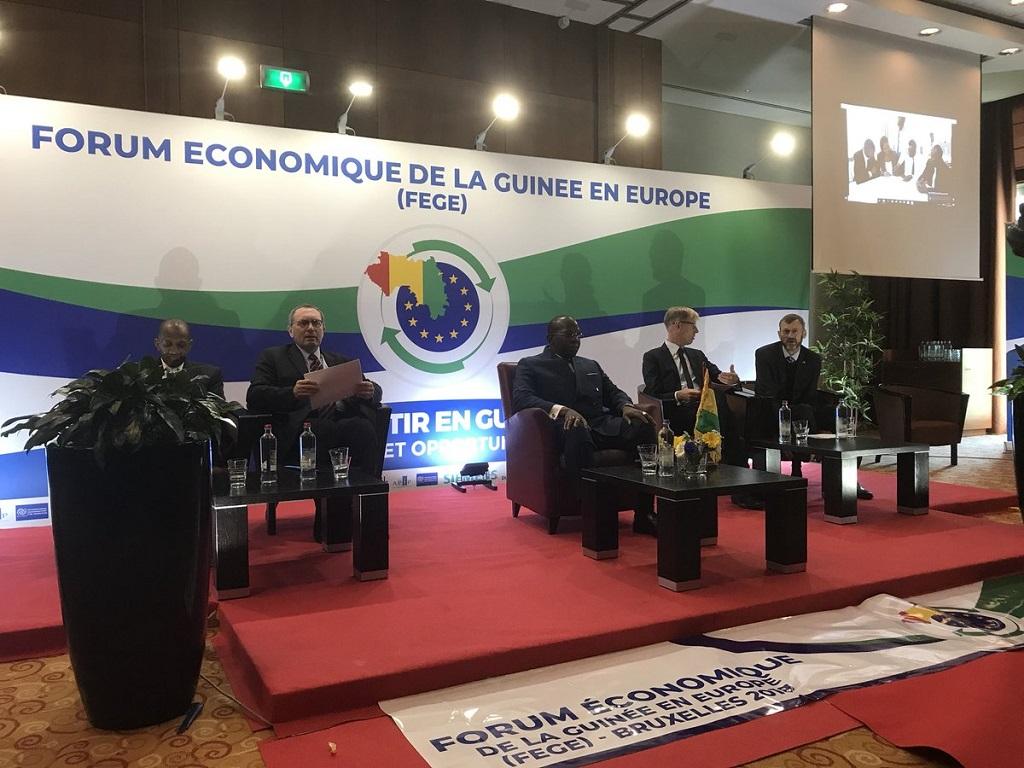 Forum économique de la Guinée en Europe: «de belles perspectives en vue», Gabriel Curtis.