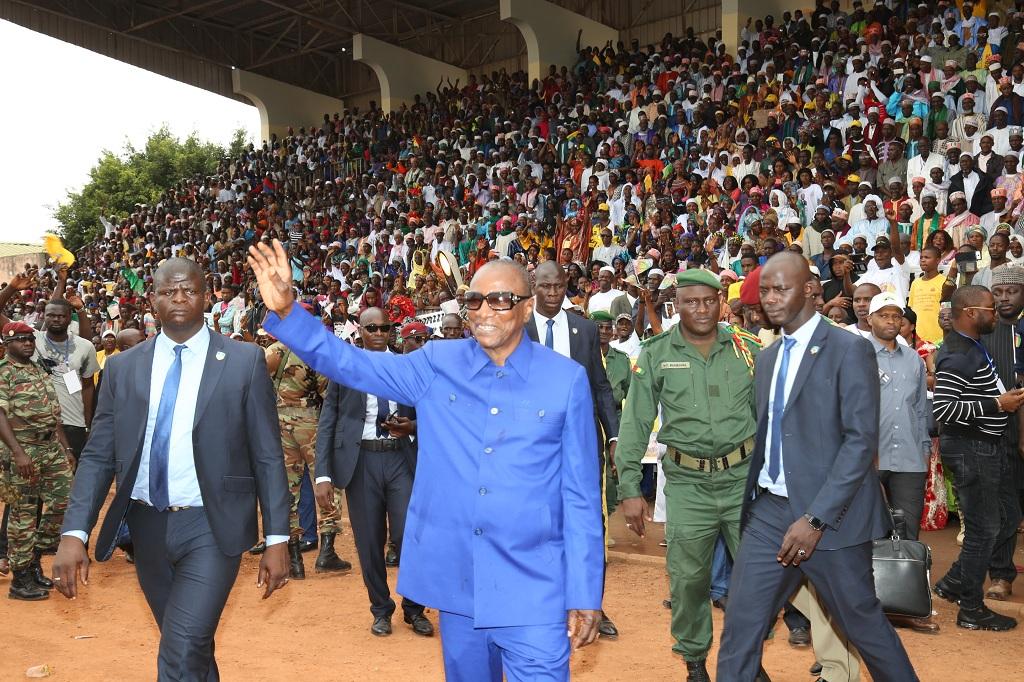 Labé: le Président Condé lance les Journées nationales de l'élevage…