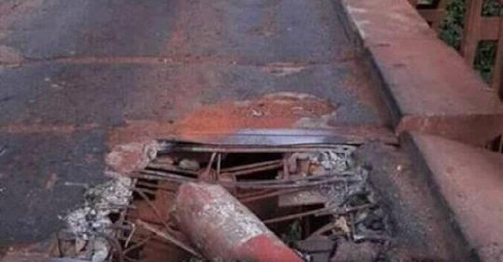 Mamou : Le pont de Linsan sur le fleuve Konkouré devient un danger pour les usagers de la RN Kindia-Mamou