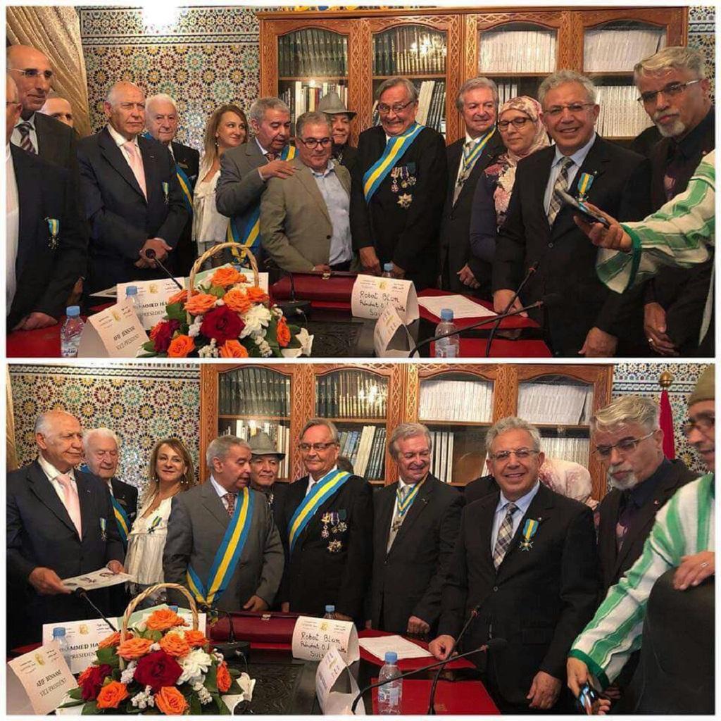 «L'Ordre Lafayette» présent au Maroc