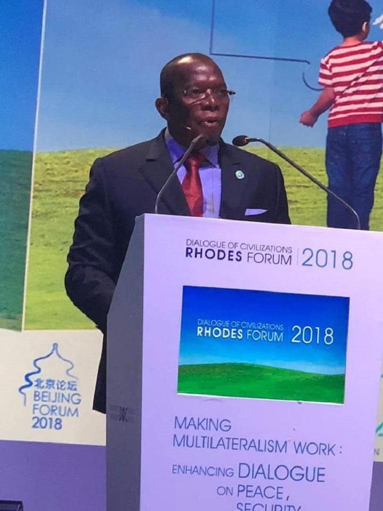 Discours intégral du Premier ministre Kassory Fofana au Forum annuel de Rhodes (Grèce)