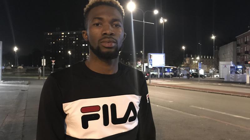 Témoignage Sidiki Camara,  demandeur d'asile, a arrêté le braqueur d'une bijouterie lilloise