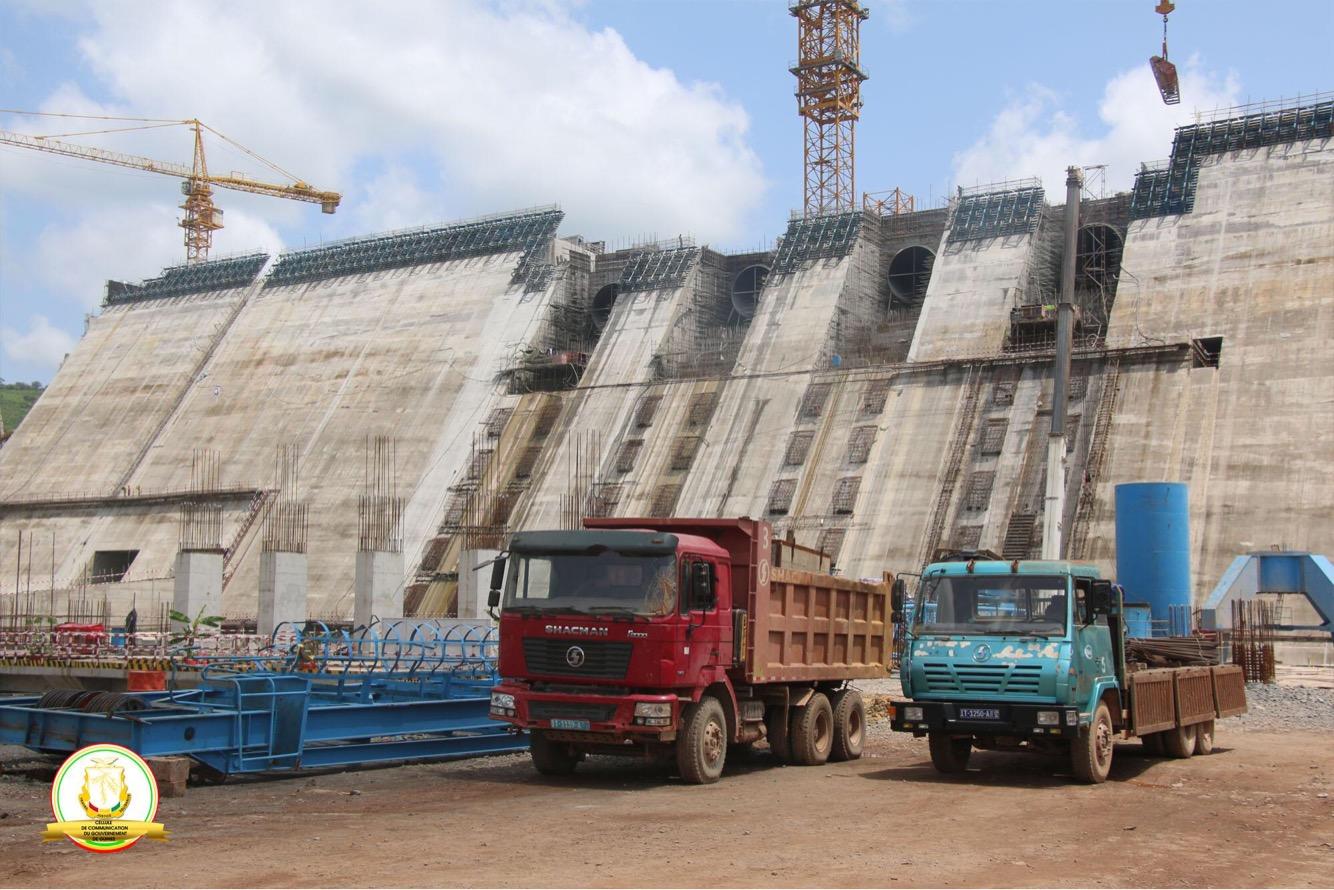 Vers la fin des travaux du barrage hydroélectrique de  Souapiti