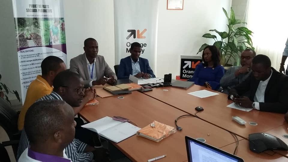 Signature d'accord cadre entre le projet filets sociaux productifs et la société Orange Guinée