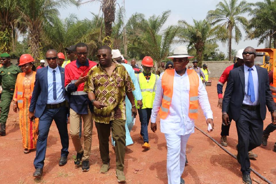 Le PM livre un message fort aux différentes sociétés minières de la préfecture de Boké