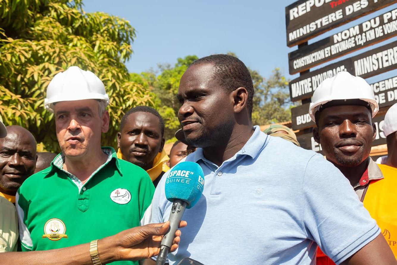 Vers la matérialisation des travaux de 40 Km de la route Lola – N'Zoo