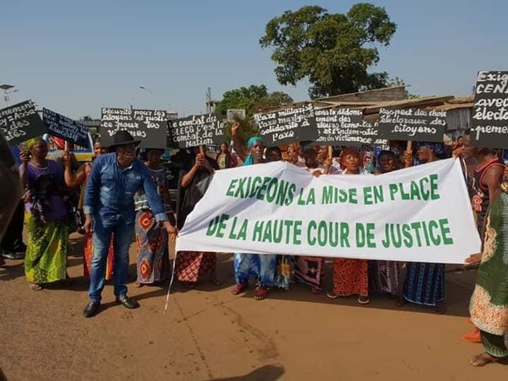 Des sittings de l'opposition républicaine à Conakry