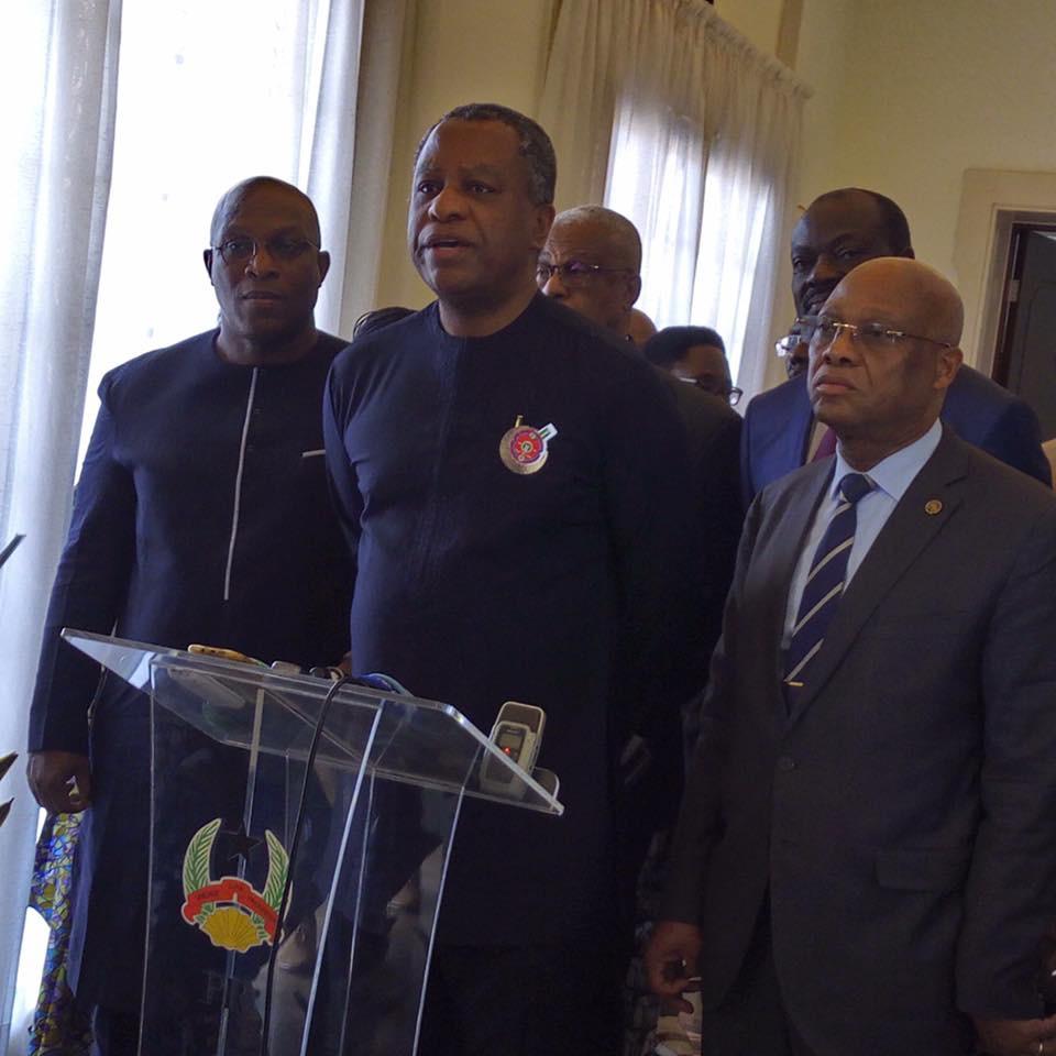Processus électoral en Guinée-Bissau : Le Ministre d'Etat Kiridi Bangoura y était en mission